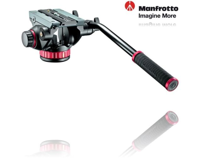 Manfrotto MVH502AH Video Pro Head For DSLR / Camcoder - Supports 7kg