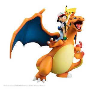 100/% Authentic GEM Pokemon Ash Satoshi /& Pikachu 1//8 PVC figure Megahouse