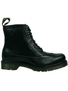 5072 Loch 7 Black Martens Doc Fritzroy Stiefel Dr Brogue Budapester wzqFZt6