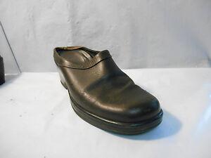 Dansko-Women-039-s-Brown-Leather-Mules-Clogs-Shoes-Size-40-EU-9-5-10-US