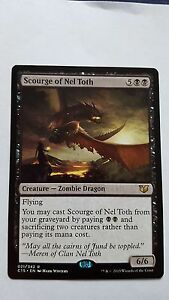 1x SCOURGE OF NEL TOTH  Rare  Commander  MTG  NM  Magic the Gathering - <span itemprop=availableAtOrFrom>Lincoln, United Kingdom</span> - Returns accepted Most purchases from business sellers are protected by the Consumer Contract Regulations 2013 which give you the right to cancel the purchase within 14 days after the day  - Lincoln, United Kingdom