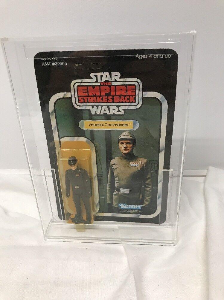 Estrella Wars Imperio Contraataca 1980 Imperial comandante 41 menta en tarjeta ENLOMADOR