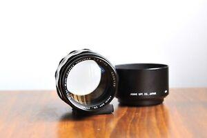 PENTAX-Asahi-SMC-Takumar-120mm-f-2-8-M42-Screw-mount-lens-w-Hood-amp-Pentax-UV