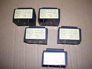 Lotto-5-trasformatori-di-alimentazione-mod-TRAFO-8-9-00-50