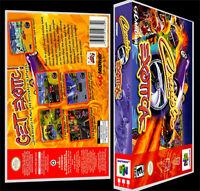 Crusin Exotica - N64 Reproduction Art Case/box No Game.