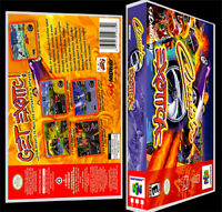 Crusin Exotica - N64 Reproduction Art Case/box No Game.