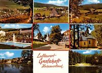 Luftkurort Grafschaft , Hochsauerland, Ansichtskarte, ungelaufen