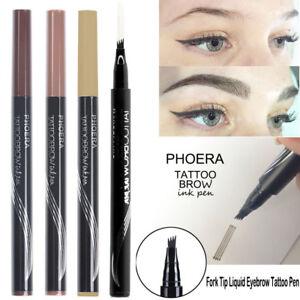 Microblading-Tattoo-Eyebrow-Liquid-Ink-Pen-Waterproof-4-Fork-Pencil-Brow-Definer