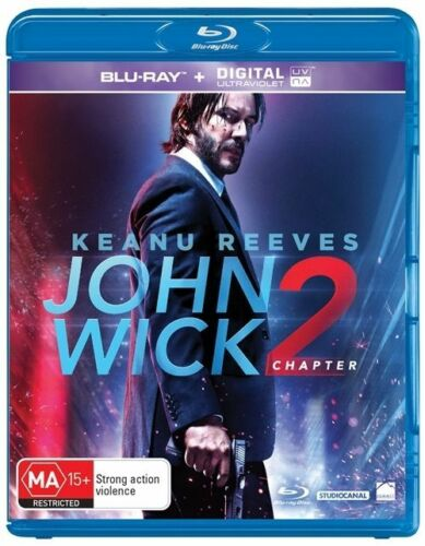 1 of 1 - John Wick - Chapter 2 (Blu-ray, 2017) New & Sealed