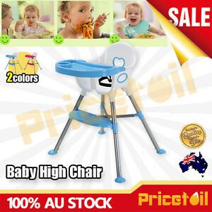 OZ-Adjustable-Baby-Highchair-Durable-Child-Eating-Feeding-Table-Seat-High-Chair