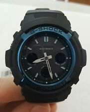 NEW Casio G-SHOCK electric wave tough solar radio time signal AWG-M100A-1A