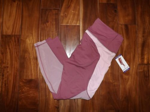 Mauve Active 89 Pink Pants Xl Size Exercise Mesh 191244258989 Life Nwt Panels Womens q5gPI