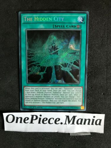 Yu-Gi-Oh The Hidden City TDIL-EN085 1st