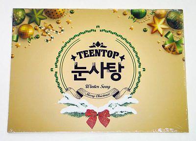 TEEN TOP - TEEN TOP Snow Kiss CD K-POP KPOP