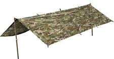 Military-Style Basha in BTP (like MTP) - Camping, Tarp, Sheet, Bivvi, Tent