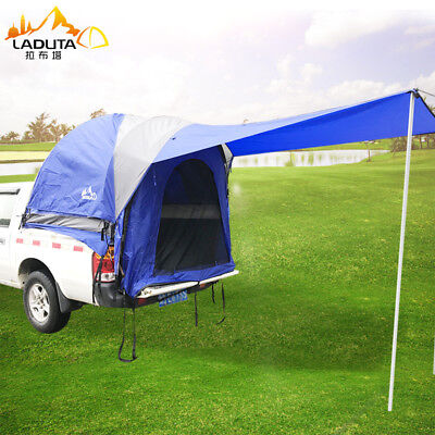 Portable Outdoor Sport Pick Up Truck Bed Tent Camping Canopy Cover Roof