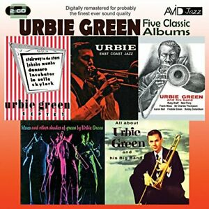 Urbie-Green-Five-Classic-Albums-All-About-Urbie-Green-Blues-And-CD