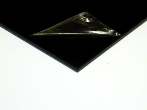 3mm ABS Black Smooth Sheet Multiple Sizes VAT Invoice Supplied