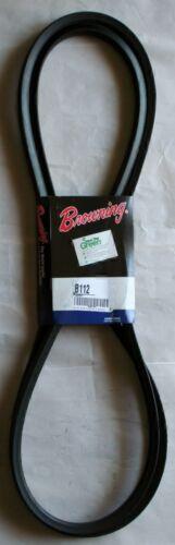 113.8 Pitch Length B Belt Section 21//32 x 7//16 Browning B112 Super Gripbelt