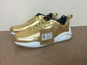 1065a13a9ba Image is loading CHAMPION-93-Eighteen-Metallic-Sneaker-Metallic-Gold-Size-