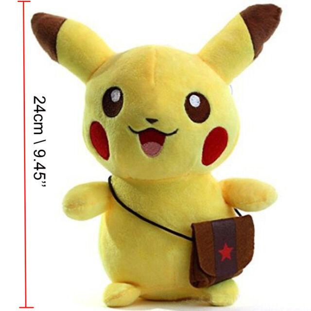 Pokemon Go Eevee Pikachu Plush Soft Toy JP Anime Collectible Stuffed Doll Teddy
