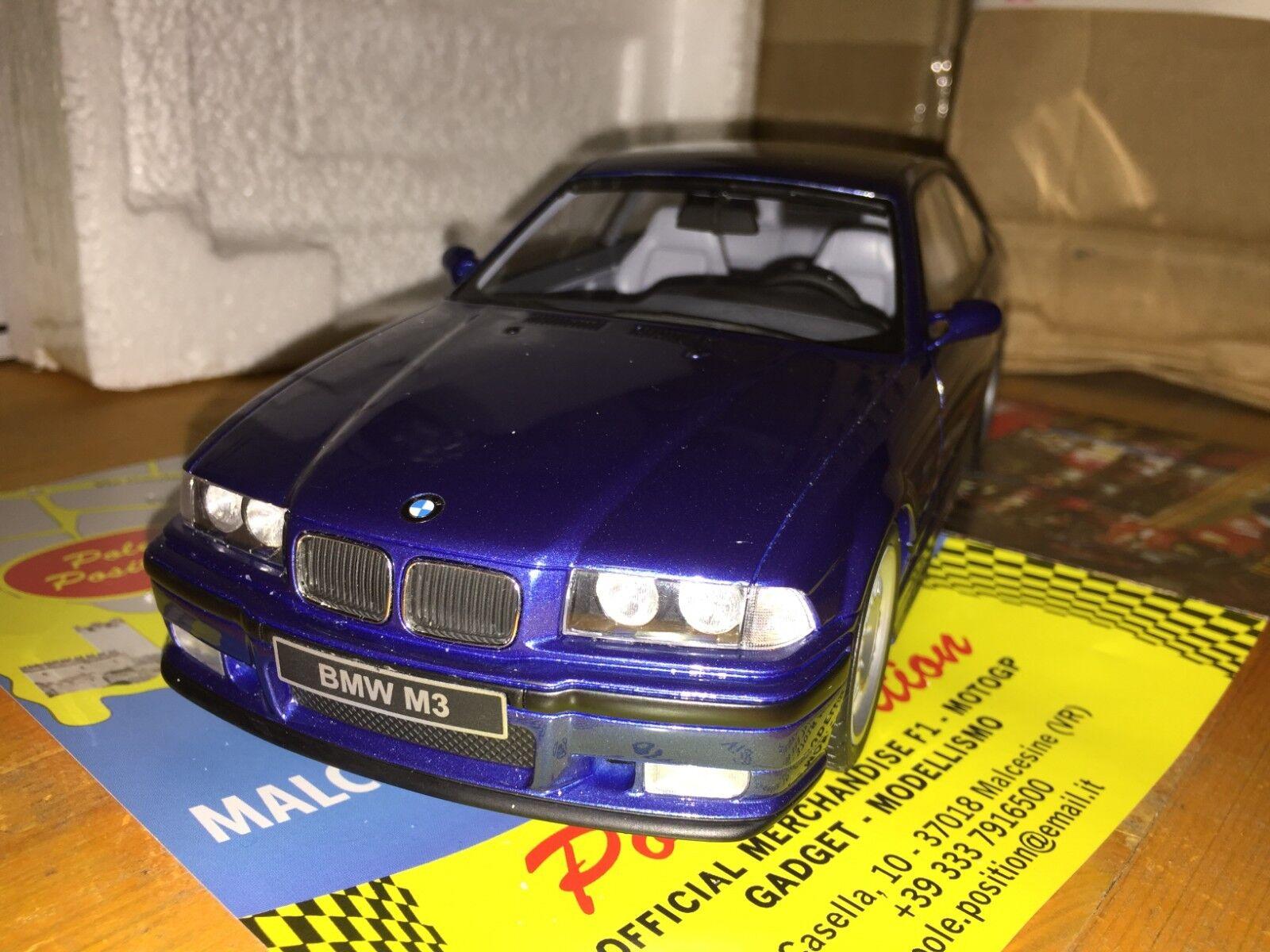 Ot625 1 18 OTTOMOBILE BMW m3 e36 3.2 bluee Metallic NEW Free Shipping Worldwide