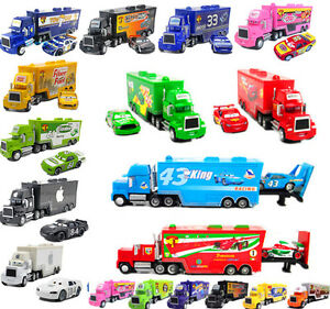 Awesome Details About 1 55 Metal Toys Disney Pixar Cars Mcqueen King Chick Francesco Mack Truck Evergreenethics Interior Chair Design Evergreenethicsorg