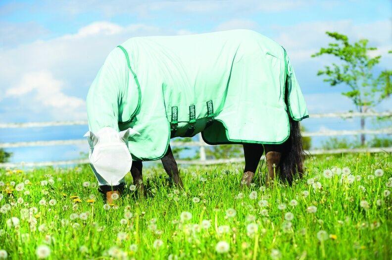 Horseware Rambo PONY SWEET ITCH HOODY SweetItch Fly Predect Rug + Mask 4'3 -5'3