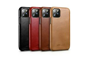 ICARER-Vintage-Echt-Leder-Flip-Case-Schutzhuelle-f-iPhone-12-11-Pro-X-XR-XS-Max-8