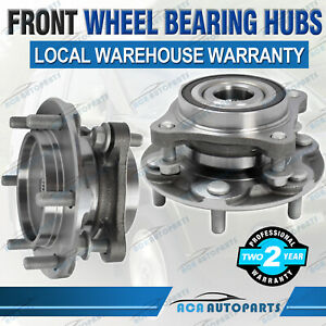 2PCS-Front-Wheel-Bearing-Hubs-Hub-for-Toyota-Prado-GRJ150-1GR-FE-KDJ150-1KD-FTV