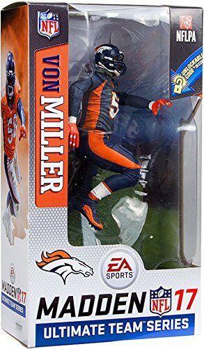 McFarlane  giocattoli NFL 17 Madden Ultimate squadra Von Miller Variant  godendo i tuoi acquisti