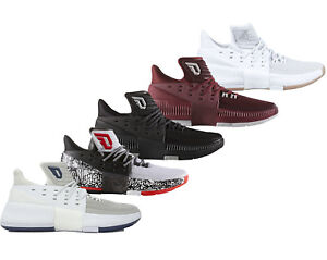 low priced 97a46 a2a85 Image is loading Adidas-Dame-3-D-Lillard-3-Basketball-Shoes-