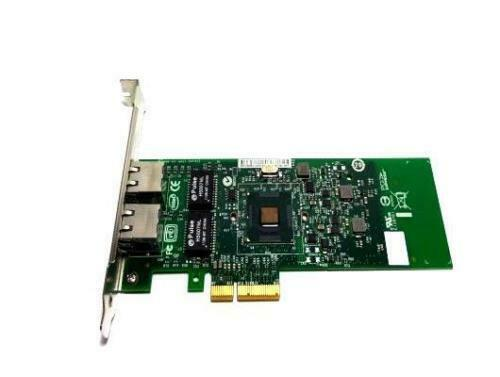 DELL INTEL Dual Port 1GB PCI-E NIC Network Card 01P8D1 1P8D1