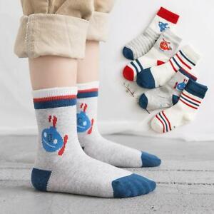 5-Pairs-Toddler-Boys-Socks