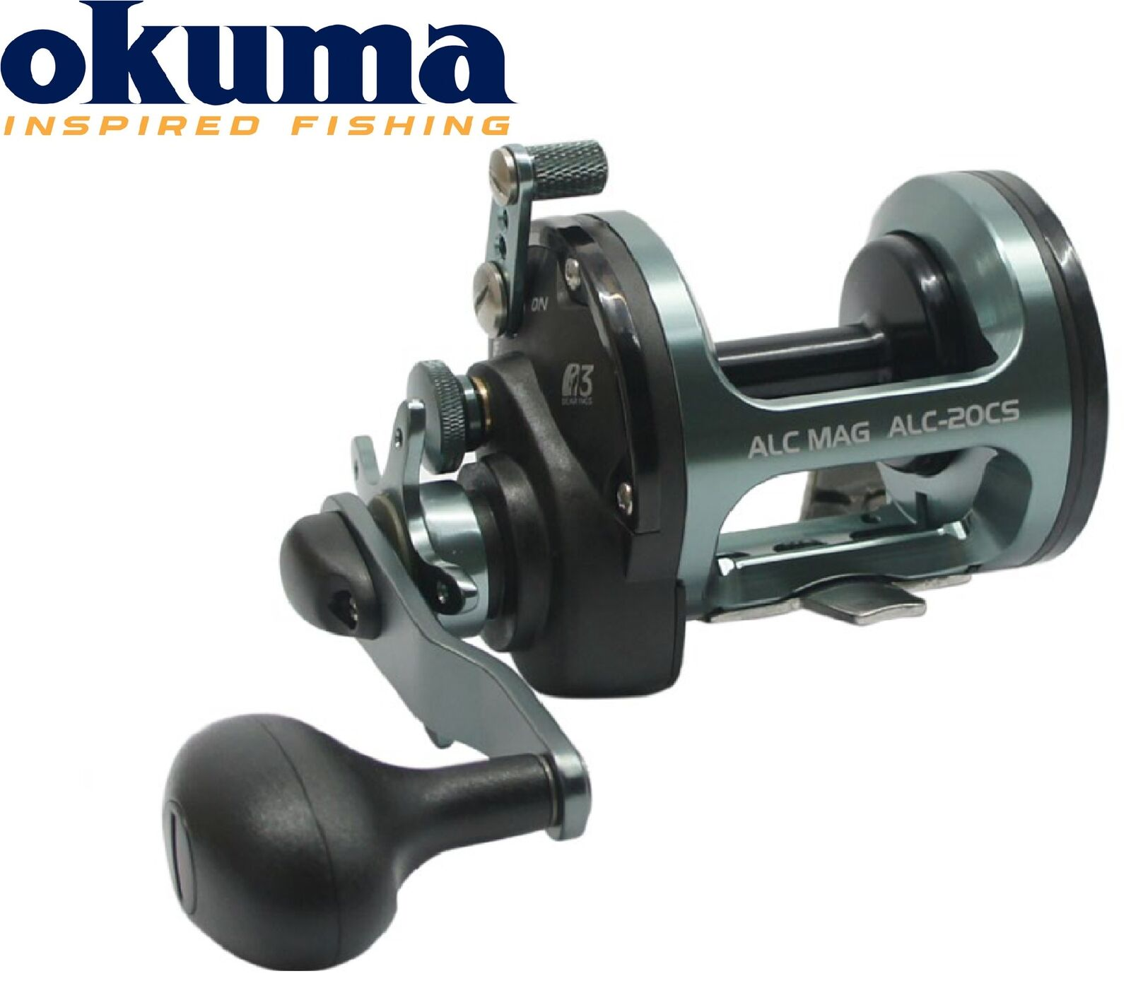 Okuma Okuma Okuma ALC-20CS Multirolle Rechtshand, Angelrolle zum Meeresfischen, Meeresrolle ffc3d4