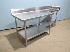 Midwest Heavy Duty Commercial Nsf Ss 84l X 30w Prepwork Table
