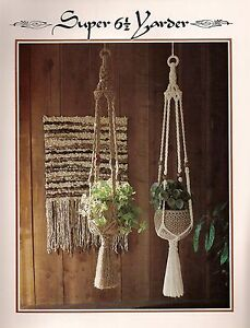 Simple Macrame Plant Hanger Pattern Book Only Z07 Juliano S Hang