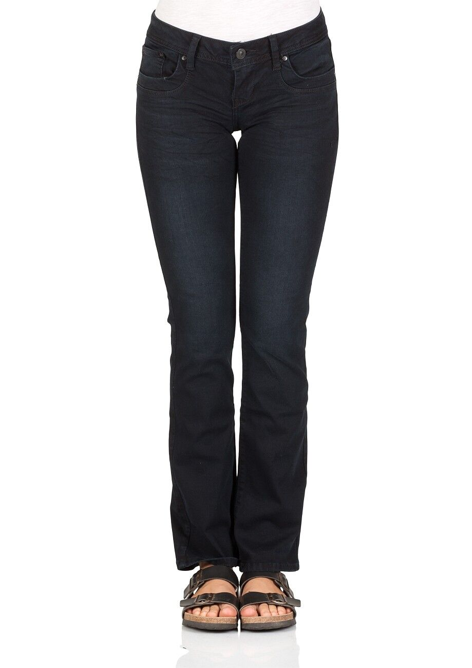 LTB Damen Jeans Valerie Stiefelcut - Blau - Camenta Wash