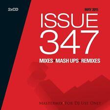Mastermix Issue 347 TWIN DJ CD Set mescola REMIXES Inc 100% pure 'UP da Marte!