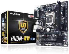 Gigabyte GA-H110M-WW LGA1151 USB3.0 Micro ATX Intel H110 7th/6th Gen Motherboard