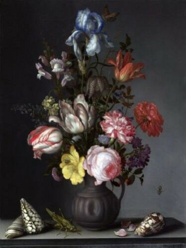 "DUTCH FLORALS-BALTHASAR VAN DER AST 3011 ART PRINT POSTER 14/"" x 11/"" FLOWERS"