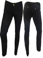 Womens Jeans Ladies Jeans Leopard Print Pattern Trouser Jean Sizes 8 10 12 14