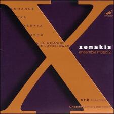 Xenakis: Échange/Okho/Xas/Akrata/À la Mémoire de Witold Lutoslawski, New Music