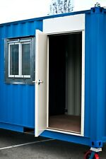 Cargo Container Hd Steel Entry Door Amp Window Kit Easy Install Free Shipping