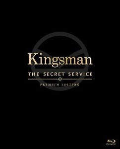 Kingsman-primera-edicion-limitada-de-primera-calidad-Blu-ray-Steelbook-FOLLETO-Japon-Tarjeta-Post