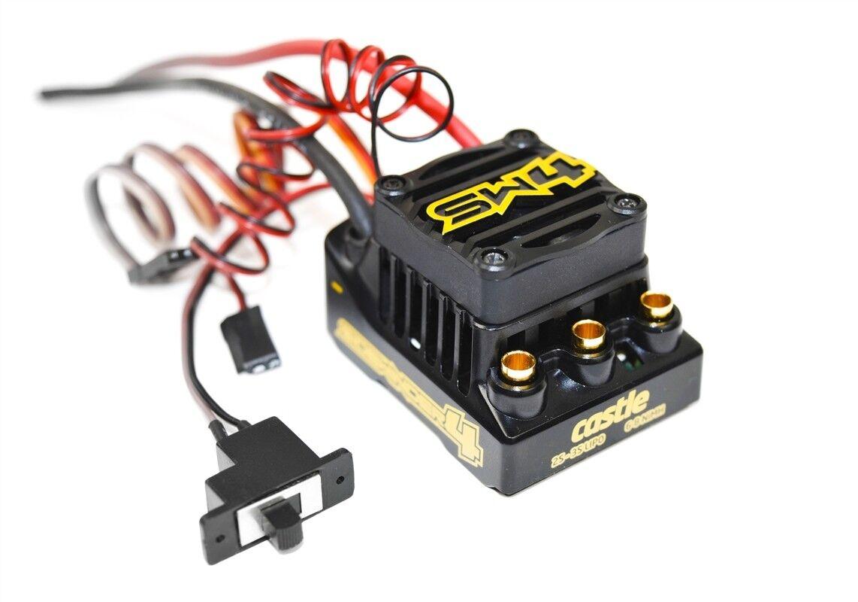 Castle Creations SW4 Sidewinder 12.6 V Esc Impermeable CSE010-0164-00