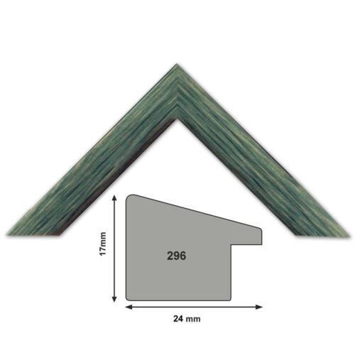 Meterware Länge 1 Meter Bilderleiste Holz Bilderleiste 296  8 Farben