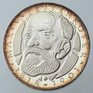 1968-D German Silver 5 Mark Proof Munich Mint KM #123.1