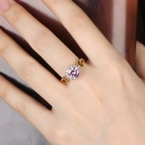 Sparkly-Round-Pink-Cubic-Zirconia-CZ-Promise-Women-Engagement-Gold-Ring-7-10