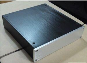 Power-amplifier-Enclosure-DAC-preamp-case-PSU-Box-screw-Power-socket